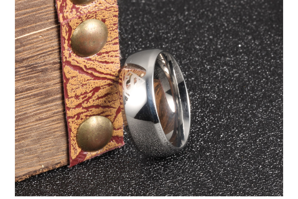 Trendy Products High Polish Men Jewelry Stainless Steel Superman Ring
