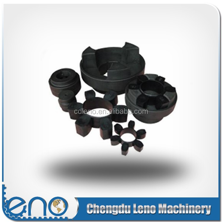 Easy Assembly HRC Jaw Couplings with Rubber Insert