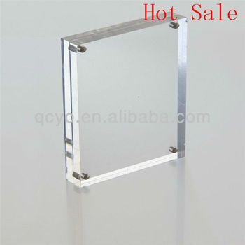 Hot Sale! Acrylic Customized 4x4 Picture Frame