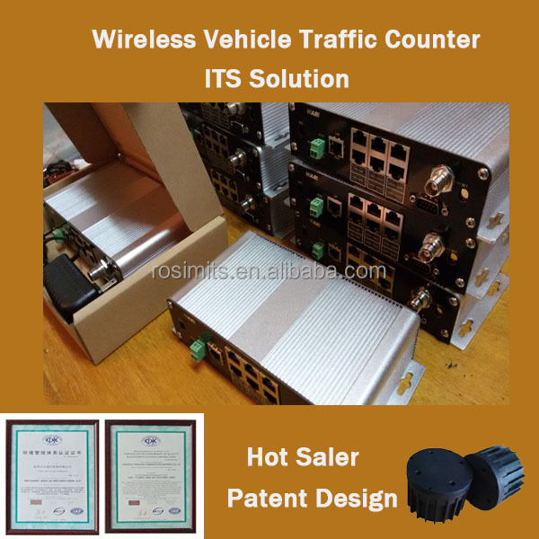 Patent Design Wireless Speed Sensor Vehcile Traffic Counter Vehicle Detection Sensor in Factory Price