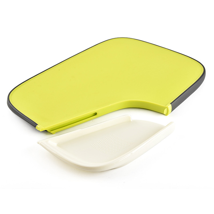Eco-friendly Kitchen plastic PP double fruit chopping cutting board