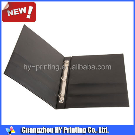 a5 faux leather 3 ring portfolio binder