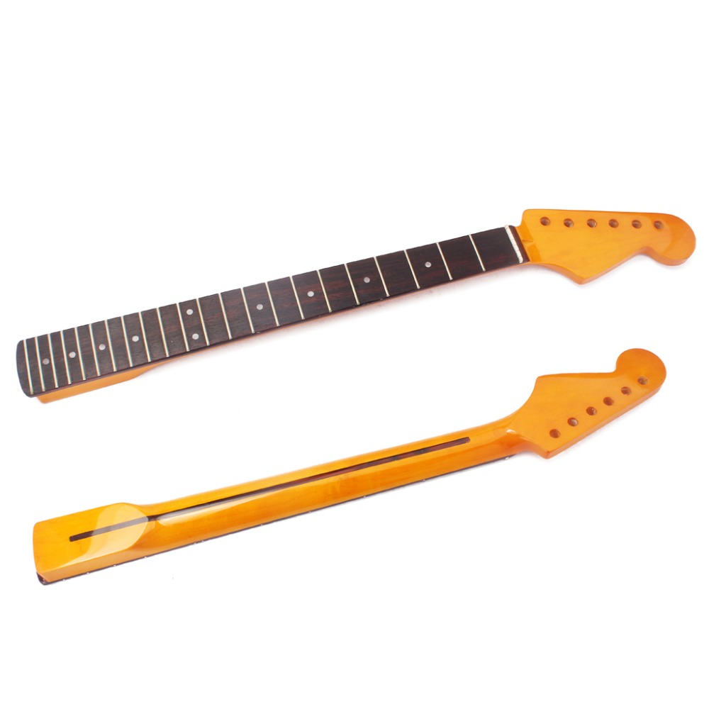 ST SQ LP Guitar rosewood fretboard flame Maple Guitar neck