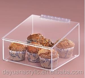 China Supplier Acrylic Bread Display Box/ Clear Acrylic Bread Box ...