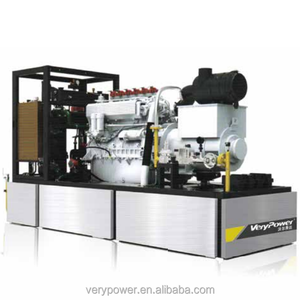 CE Approved German Engine Powered 430KW CHP Natural Gas/Biogas/Methan/LPG Generator Set