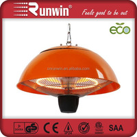 Trade Show Colorful IP55 Ceiling Fan Infrared Heater
