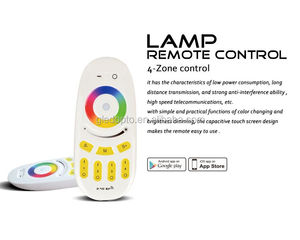 led touch dimmer switch rgbw million colors changing touch led dimmer 4 zone remote control