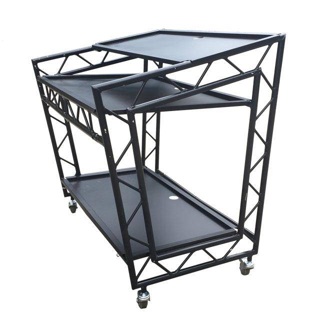 2019 Sgaier 휴대 알루미늄 트러스는 DJ 부스 DJ 트러스 테이블