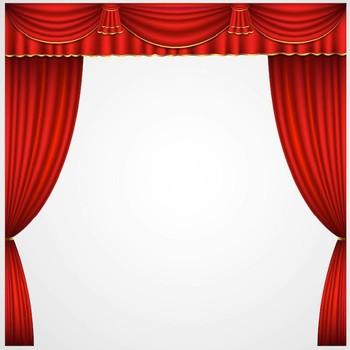 Motoris utilis rouge home cin ma rideaux de sc ne pour for Motorized curtains home theater