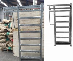 Cattle Yard Gate Livestock Sliding Gates With 42x70mm