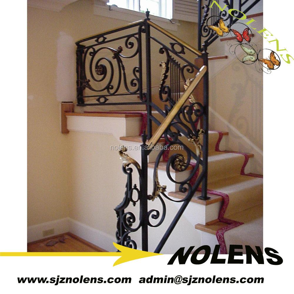 Handforged Wrought Iron Stair Railing Outdoor Handrail Por Design Indoor Hand Balcony Designs Used Wro
