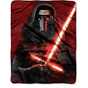"""Star Wars Episode 7: The Force Awakens """"New Sith"""" 40"""" x 50"""" Silk Touch Throw"""