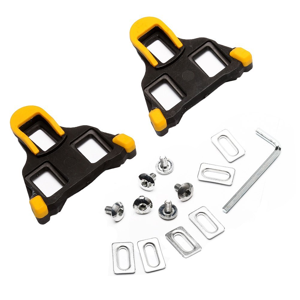 West Biking Pedals Cleats for Cycling Shoes For Shimano Road SM-SH11 SPD-SL …