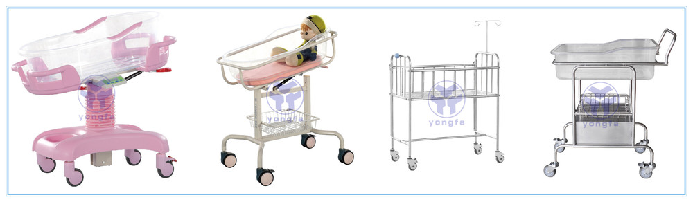 YFY068 L Medical  Hospital Baby Crib