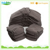 pampering baby double leg gussets bamboo charcoal cloth diaper insert pads