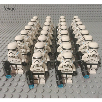 Star SW578 Wars StormTrooper Compatible Legoe 75083 75157 75090 75078 75141 mini figures building brick Model Kids Gift