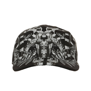 a5182dddc8b9e China Fashion Digital Printed Wholesale Cheap Custom Curved Bill Baseball  Caps 5 Panel Baseball Hat