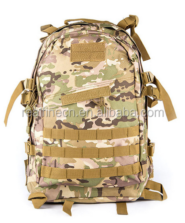 Military Camouflage Tactical Assault Molle 3 Day Backpack Hydration Pack Outdoor Sports Camping Hiking Survival Travel Bag 35L