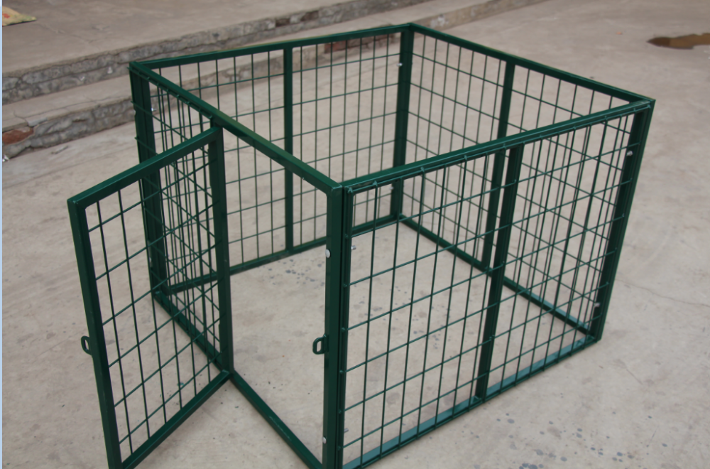hot dipped galvanized & PVC coated dog kennels/ dog cages china manufacturer