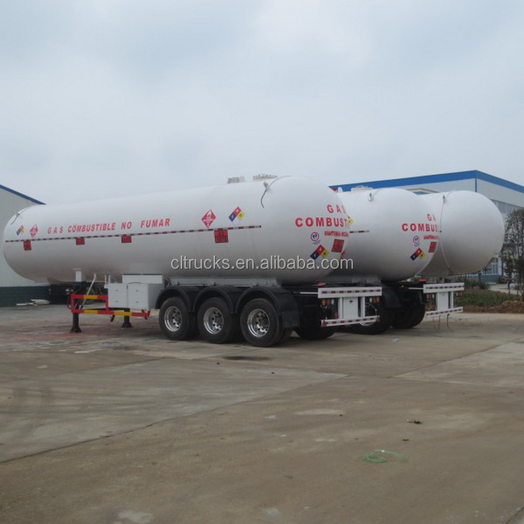 Excellent quality new products lpg bottle trailer truck