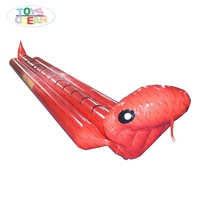 inflatable snake Naja naja atra banana boat towable water sport games