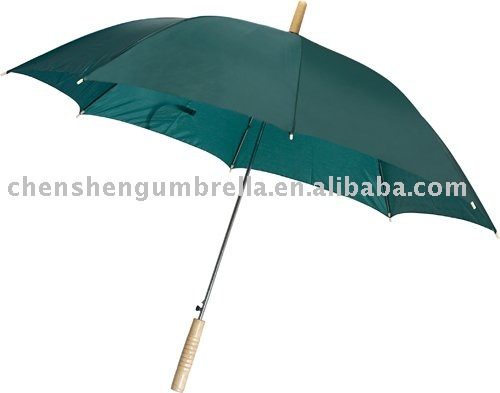 auto open metal rod regular umbrella