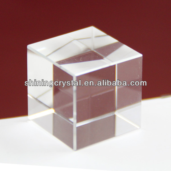 Apple shape crystal paperweight for souvenir gift
