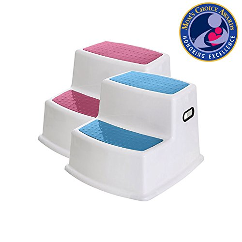 Anti-Slip /& Kids Step Stool By Sahara Baby Dual Height Step Stool for Toddlers