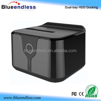Blueendless dual bay hdd dock 2