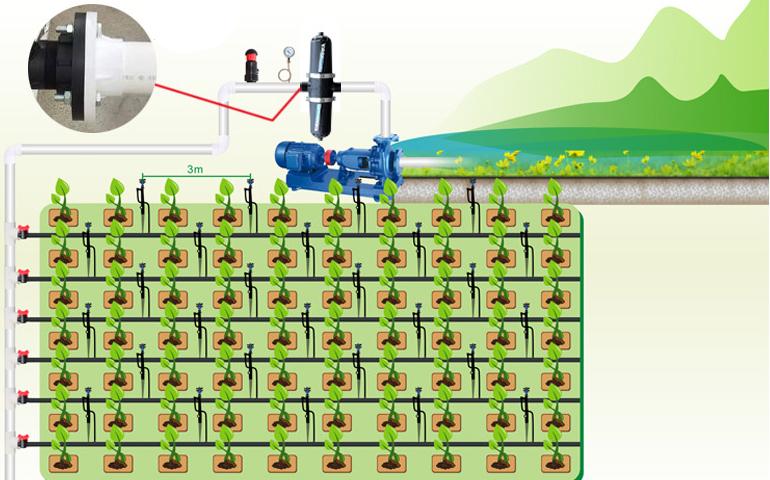 PP Irrigation Disc Filter 120 mesh