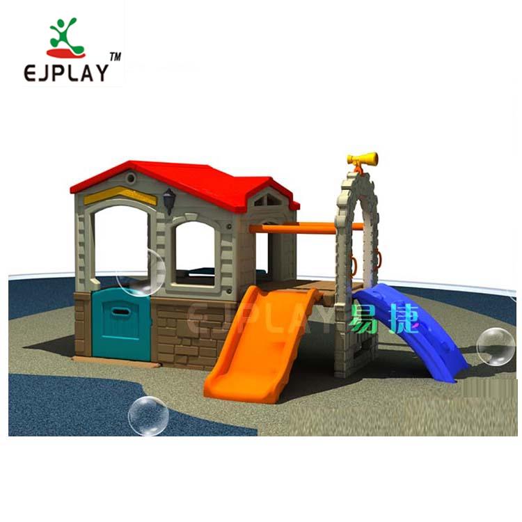 Beautiful Plastic Amusement Preschool Park Playground Slide
