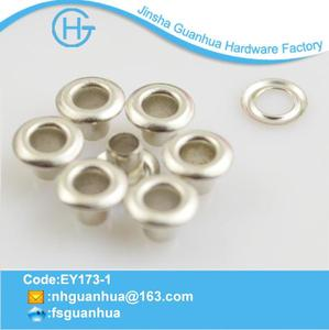Professional design and specially brass eyelets for leather made in China