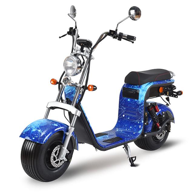 3pluscoco europe warehouse EEC City coco Electric Scooter 800w 1000w seev citycoco 2000w electric scooter with fat bike tire