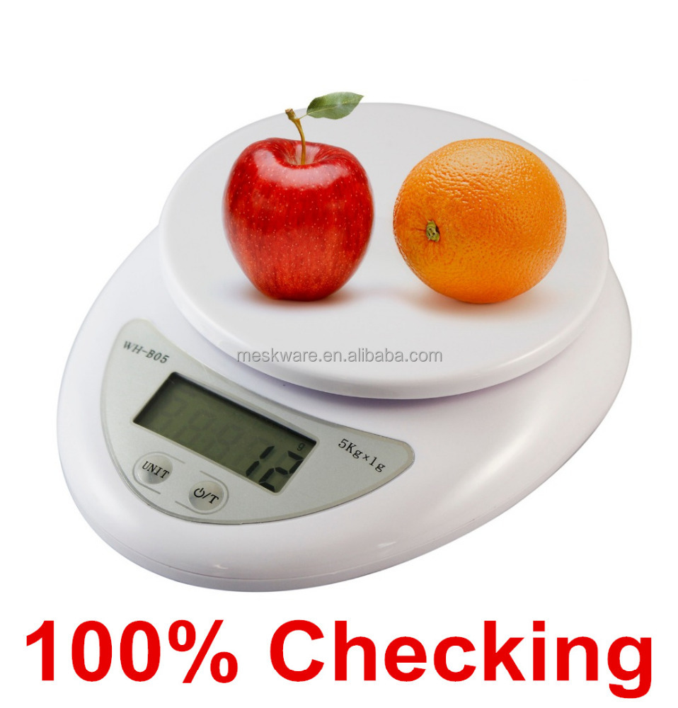 5kg/1g multi function electronic digital kitchen scale, manual kitchen scale