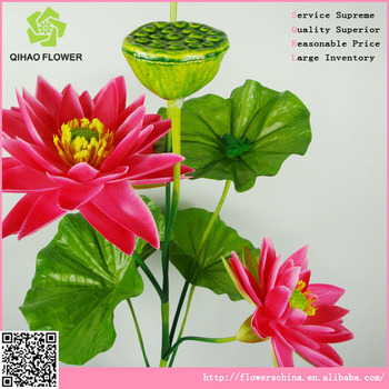 High quanlity artificial lotus flower with frog in big lotus petals high quanlity artificial lotus flower with frog in big lotus petals mightylinksfo Image collections