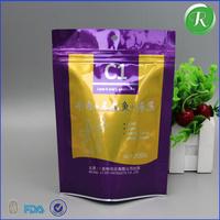 2016 Alibaba China Best Sale aluminum foil zip lock bags