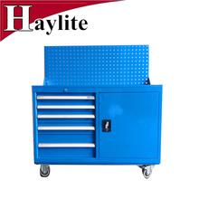 Haylite Best rolling cabinet metal small tool cart with wheels