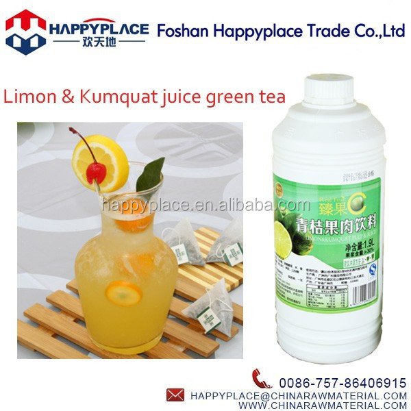 Fruit Juice Concentrate for Drink, Limon & Kumquat Juice Tea, Real Fruit C Calamansi Juice for Bubble Tea
