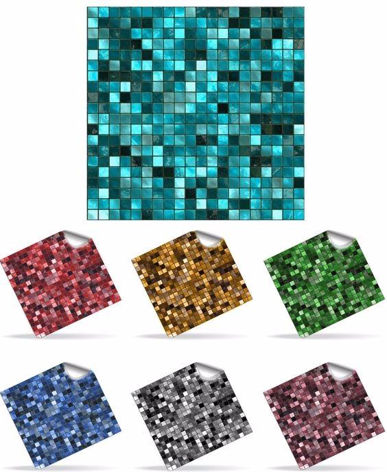 Oem di fabbrica tipo di mosaico gel mattonelle della for Mattonelle in vinile