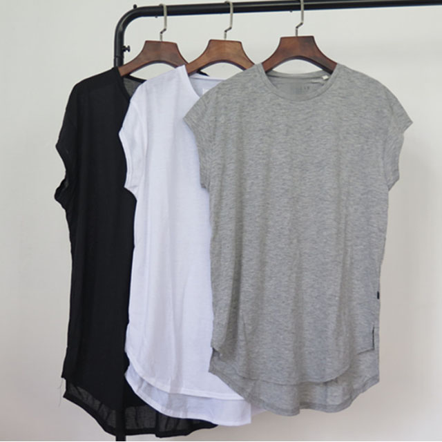 Custom Cotton T Shirt Women Bulk Plain Blank Tshirt In China