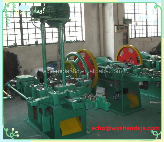 New Generation Automatic Umbrella Roofing Nail Making Machine Factory Sale