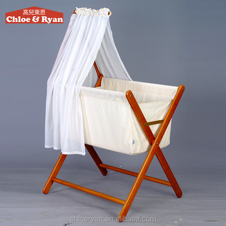 2016 new arrival mulit-purpose mobile infant bed foldable crib for baby