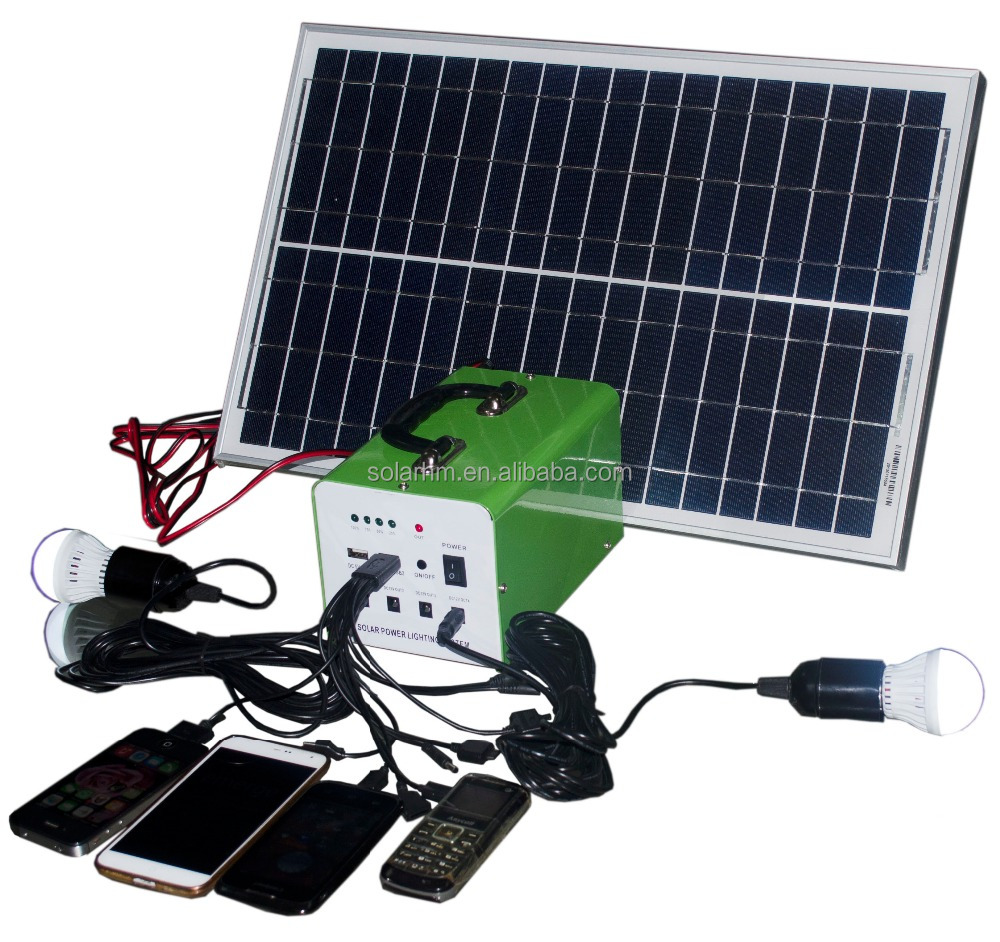 CE certificate home use solar <strong>kit</strong> with FM and MP3 fuction