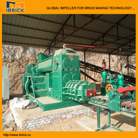 Baoshen high efficiency durable full auto red hollow clay brick making machine plant