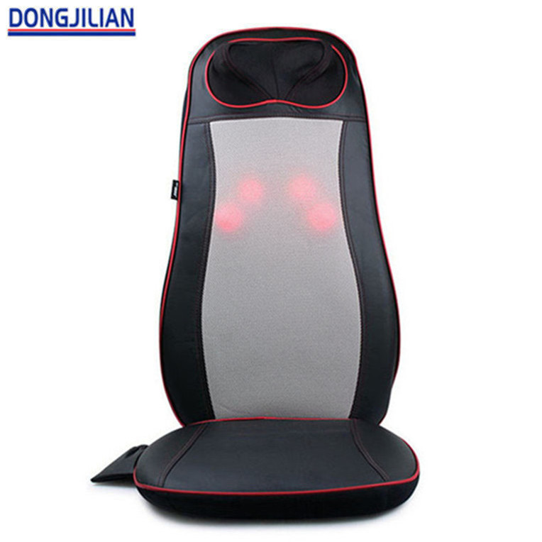 Soothing Heat Therapy Relax Shiatsu Massage Cushion For Chair
