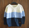 Autumn O-Neck sweater Soild color Knitting sweaters for men