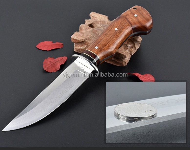 GM-B3186 porfessional survival <strong>knife</strong> with hard-wooden handle