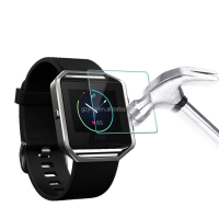Smart watch tempered 9h glass screen protector for fitbit versa