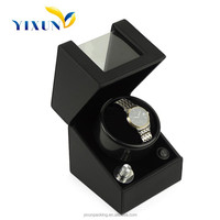 Cheap price leather wood watch box winder, automatic watch winder