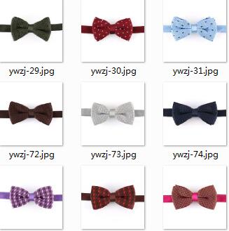 High quality children bowtie safe pin bow tie for kids